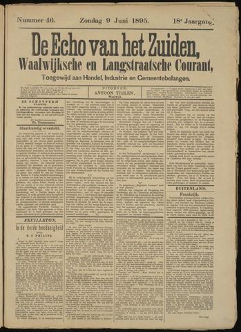 Echo van het Zuiden 1895-06-09