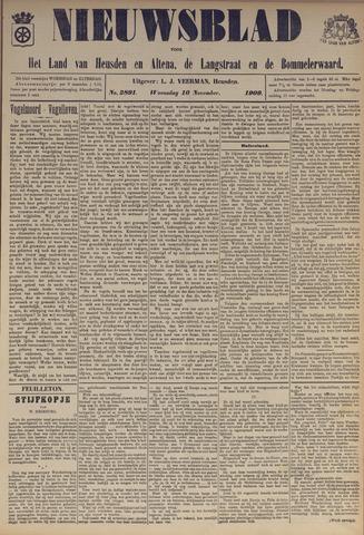 Nieuwsblad het land van Heusden en Altena de Langstraat en de Bommelerwaard 1909-11-10
