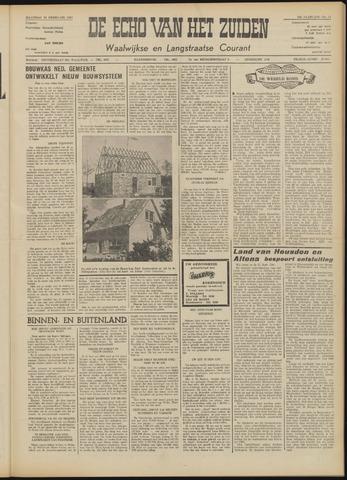 Echo van het Zuiden 1957-02-18