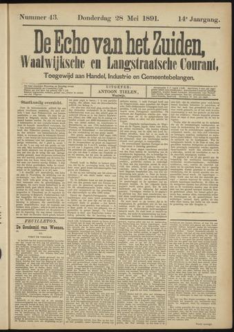 Echo van het Zuiden 1891-05-28
