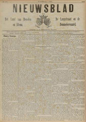 Nieuwsblad het land van Heusden en Altena de Langstraat en de Bommelerwaard 1890-05-07