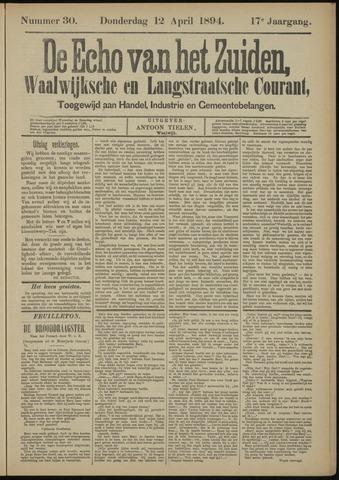 Echo van het Zuiden 1894-04-12