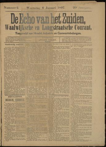 Echo van het Zuiden 1897-01-06