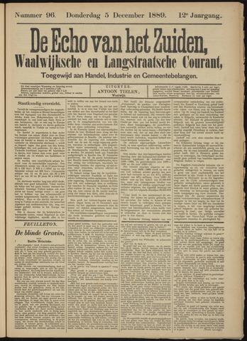 Echo van het Zuiden 1889-12-05