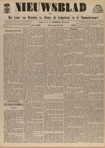 Nieuwsblad het land van Heusden en Altena de Langstraat en de Bommelerwaard 1915-07-28