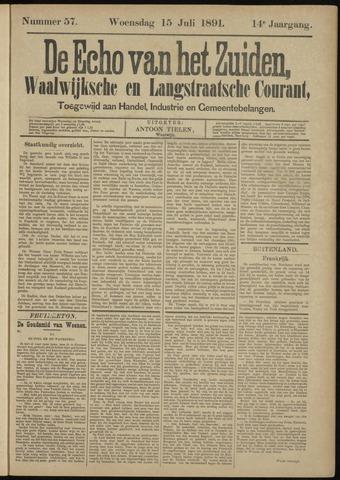 Echo van het Zuiden 1891-07-15