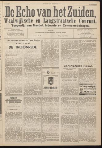 Echo van het Zuiden 1938-09-21