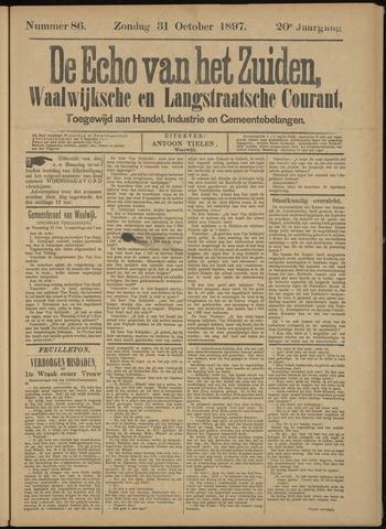 Echo van het Zuiden 1897-11-04