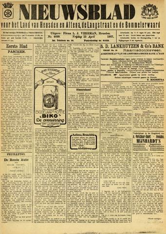 Nieuwsblad het land van Heusden en Altena de Langstraat en de Bommelerwaard 1927-04-15