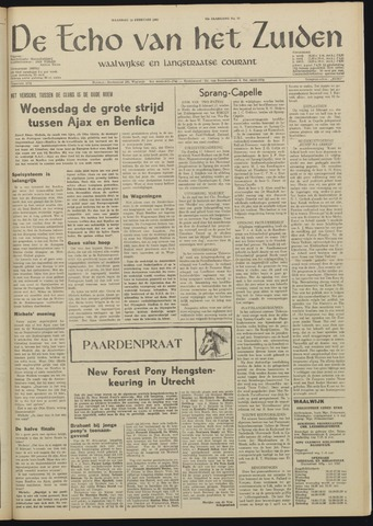 Echo van het Zuiden 1969-02-10