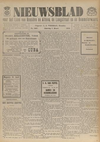 Nieuwsblad het land van Heusden en Altena de Langstraat en de Bommelerwaard 1919-03-01