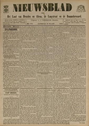 Nieuwsblad het land van Heusden en Altena de Langstraat en de Bommelerwaard 1899-03-25