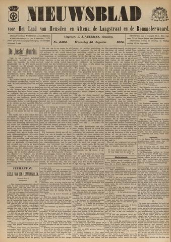 Nieuwsblad het land van Heusden en Altena de Langstraat en de Bommelerwaard 1915-08-25