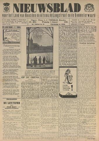 Nieuwsblad het land van Heusden en Altena de Langstraat en de Bommelerwaard 1930-01-01
