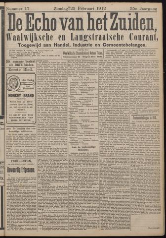 Echo van het Zuiden 1912-02-25