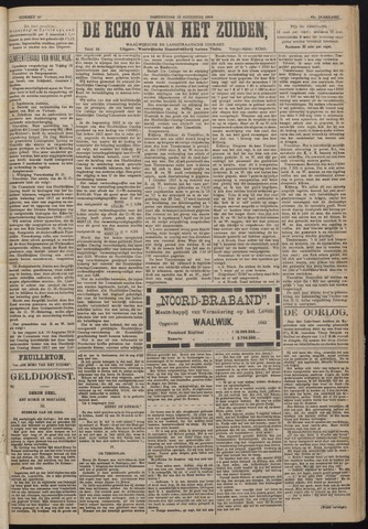 Echo van het Zuiden 1918-08-22