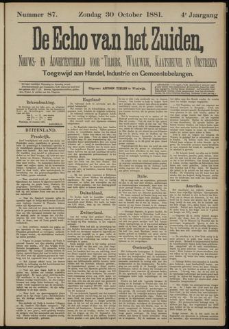 Echo van het Zuiden 1881-10-30
