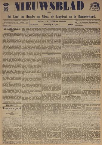 Nieuwsblad het land van Heusden en Altena de Langstraat en de Bommelerwaard 1908-04-04