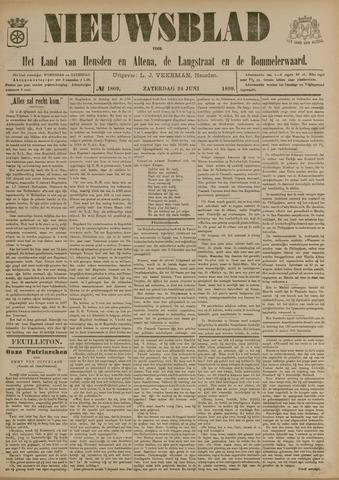 Nieuwsblad het land van Heusden en Altena de Langstraat en de Bommelerwaard 1899-06-24
