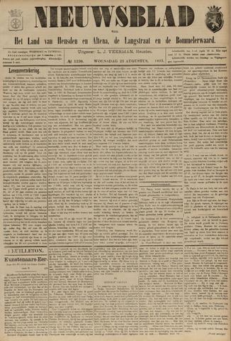 Nieuwsblad het land van Heusden en Altena de Langstraat en de Bommelerwaard 1893-08-23