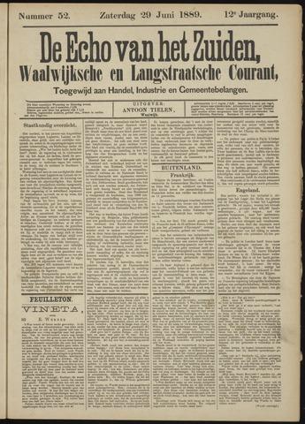 Echo van het Zuiden 1889-06-30