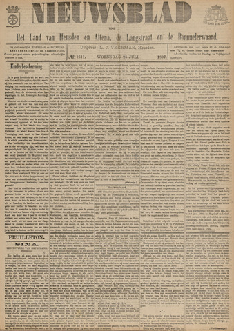 Nieuwsblad het land van Heusden en Altena de Langstraat en de Bommelerwaard 1897-07-28