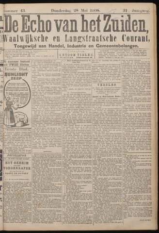 Echo van het Zuiden 1908-05-28