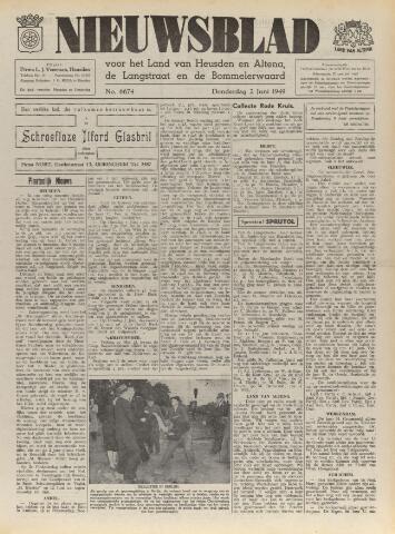 Nieuwsblad het land van Heusden en Altena de Langstraat en de Bommelerwaard 1949-06-02