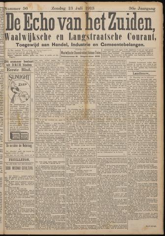 Echo van het Zuiden 1913-07-13