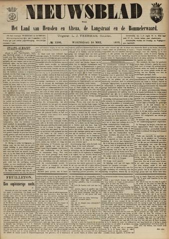 Nieuwsblad het land van Heusden en Altena de Langstraat en de Bommelerwaard 1893-05-10