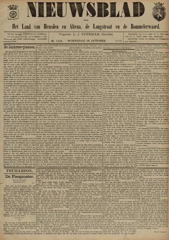 Nieuwsblad het land van Heusden en Altena de Langstraat en de Bommelerwaard 1892-10-26