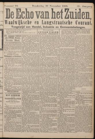 Echo van het Zuiden 1908-11-19