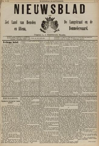 Nieuwsblad het land van Heusden en Altena de Langstraat en de Bommelerwaard 1891-09-30