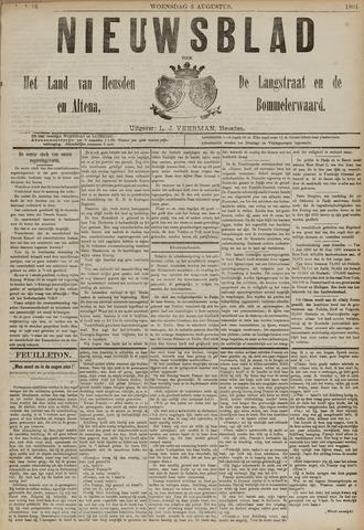 Nieuwsblad het land van Heusden en Altena de Langstraat en de Bommelerwaard 1891-08-05