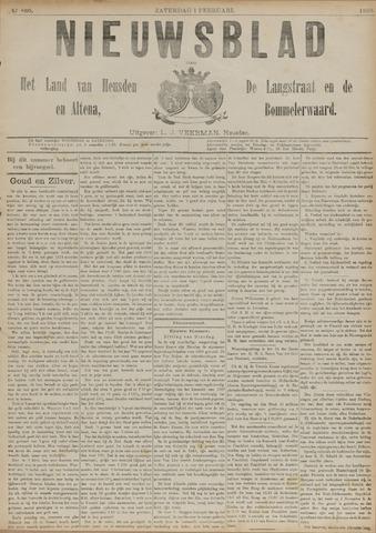 Nieuwsblad het land van Heusden en Altena de Langstraat en de Bommelerwaard 1890-02-01