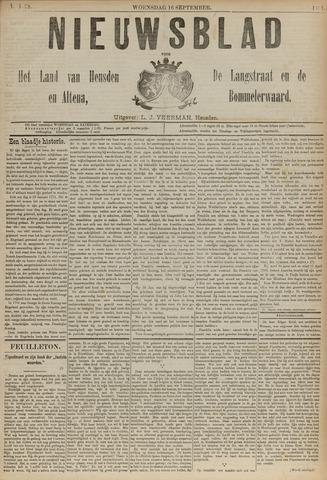 Nieuwsblad het land van Heusden en Altena de Langstraat en de Bommelerwaard 1891-09-16