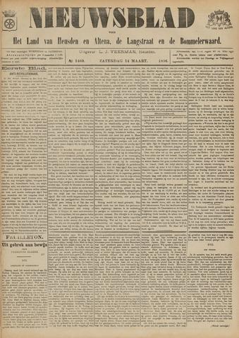 Nieuwsblad het land van Heusden en Altena de Langstraat en de Bommelerwaard 1896-03-14
