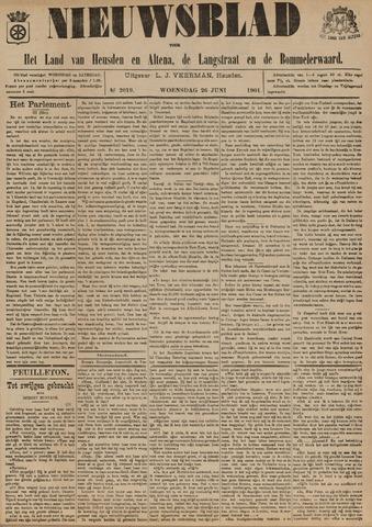 Nieuwsblad het land van Heusden en Altena de Langstraat en de Bommelerwaard 1901-06-26
