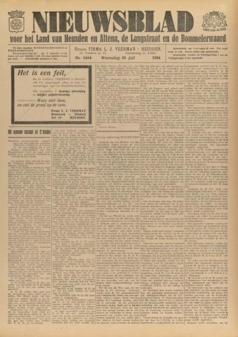 Nieuwsblad het land van Heusden en Altena de Langstraat en de Bommelerwaard 1934-07-25