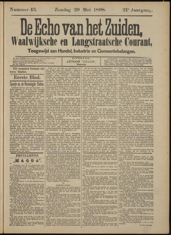 Echo van het Zuiden 1898-05-29