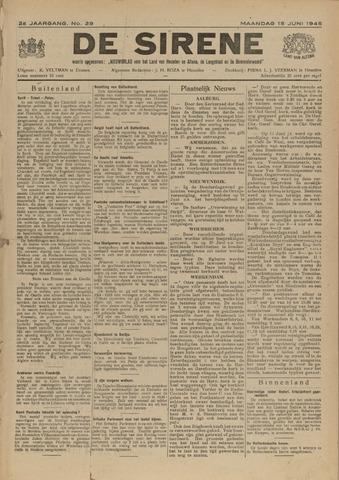 De Sirene 1945-06-18