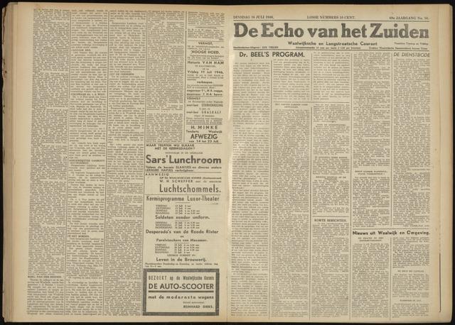 Echo van het Zuiden 1946-07-16