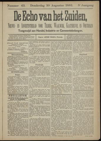 Echo van het Zuiden 1882-08-10