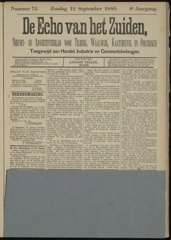Echo van het Zuiden 1886-09-12