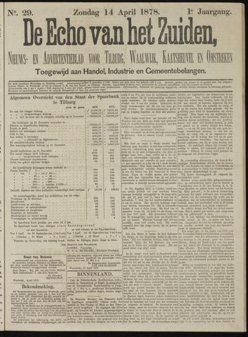 Echo van het Zuiden 1878-04-14