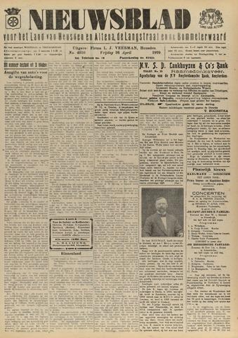 Nieuwsblad het land van Heusden en Altena de Langstraat en de Bommelerwaard 1929-04-26