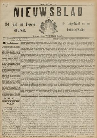 Nieuwsblad het land van Heusden en Altena de Langstraat en de Bommelerwaard 1892-06-18