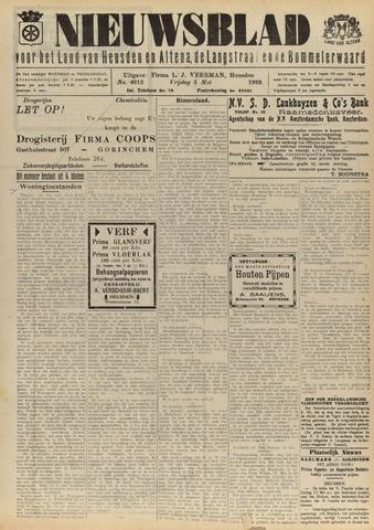 Nieuwsblad het land van Heusden en Altena de Langstraat en de Bommelerwaard 1929-05-03