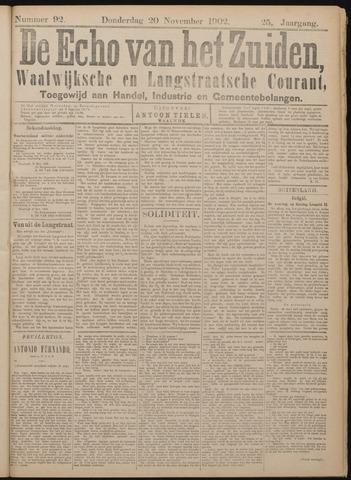 Echo van het Zuiden 1902-11-20
