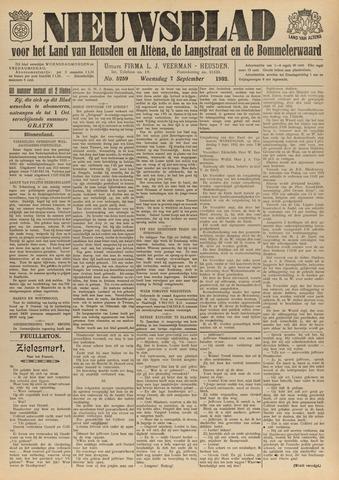 Nieuwsblad het land van Heusden en Altena de Langstraat en de Bommelerwaard 1932-09-07
